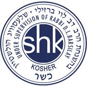Kosher certified product.