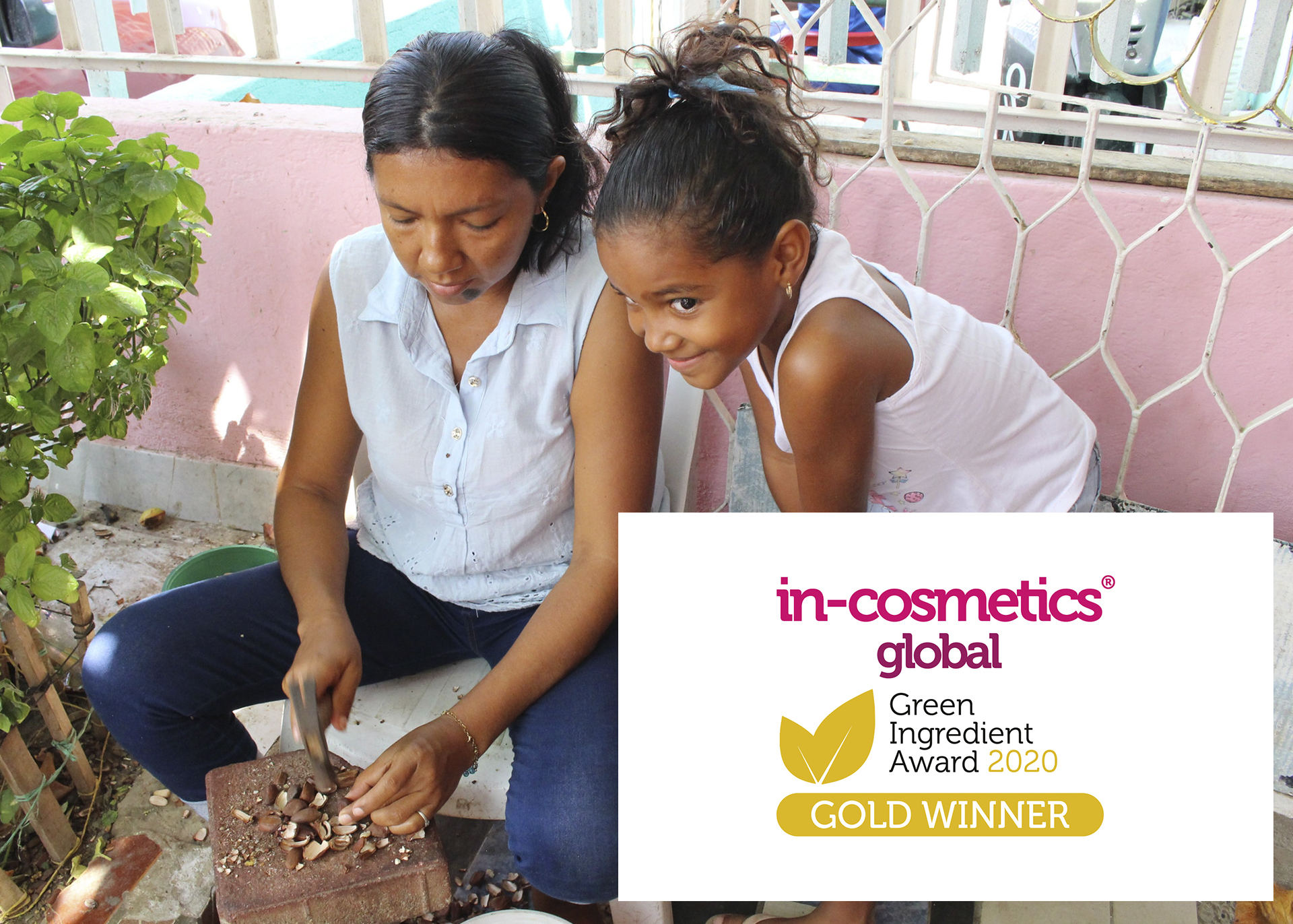 Paradiesnussöl gewinnt Gold beim in-cosmetics® global Green Ingredient Award 2020!