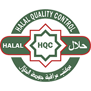 Halal certified product.