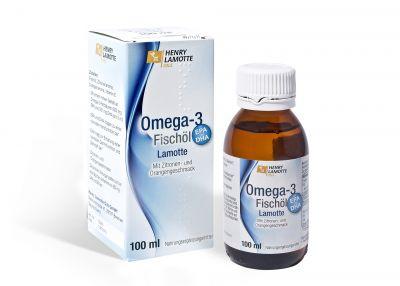 Omega-3 Fischöl Lamotte